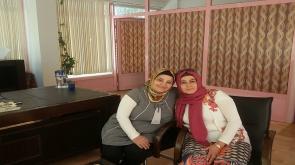 Serap Çakır'dan sürpriz ziyaret
