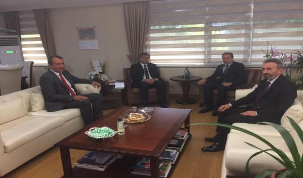 Başkan Karabacak'tan Bakan Yardımcısı Erdem'e ziyaret