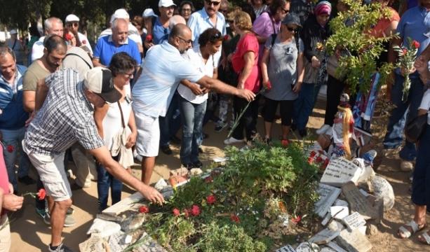 Tuncel Kurtiz 4. ölüm yıl dönümünde mezarı başında anıldı