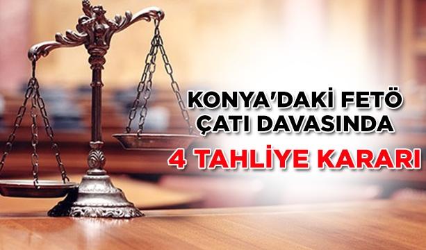 Konya'daki FETÖ çatı davasında 4 tahliye kararı #konyahaber