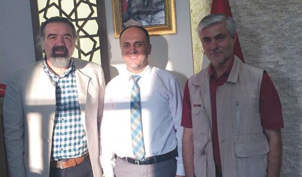 Gazetemizden Başkan Murat Özaltun'a ziyaret