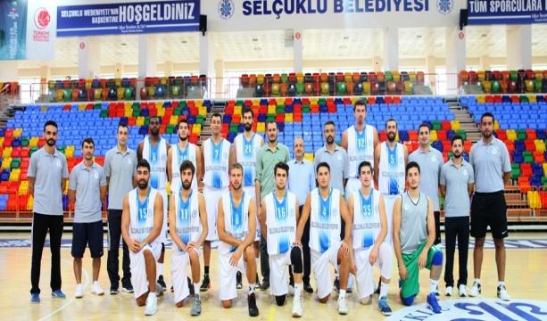 Konya'da basketbol heyecanı başlıyor