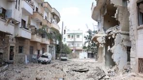 Suriye'de hava saldırıları sürüyor