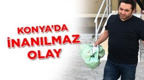 Konya'da inanılmaz olay #konyahaber