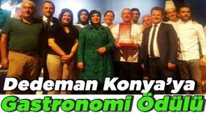 Dedeman Konya' ya Gastronomi Ödülü #KonyaHaber