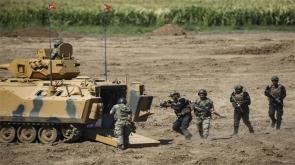 Türk ve Iraklı askerler taarruza geçti