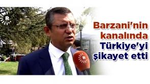 Barzani'nin kanalında Türkiye'yi şikayet etti
