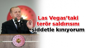 Cumhurbaşkanı Erdoğan: Las Vegas'taki terör saldırısını şiddetle kınıyorum