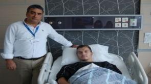 Erdon Dacı ameliyat oldu