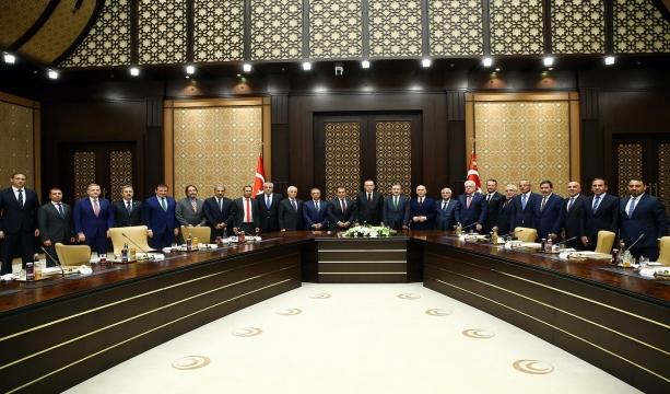 Başkan Fatih Yılmaz'ın da yer aldığı Kulüpler Birliği üyelerinden Cumhurbaşkanı Erdoğan'a ziyaret
