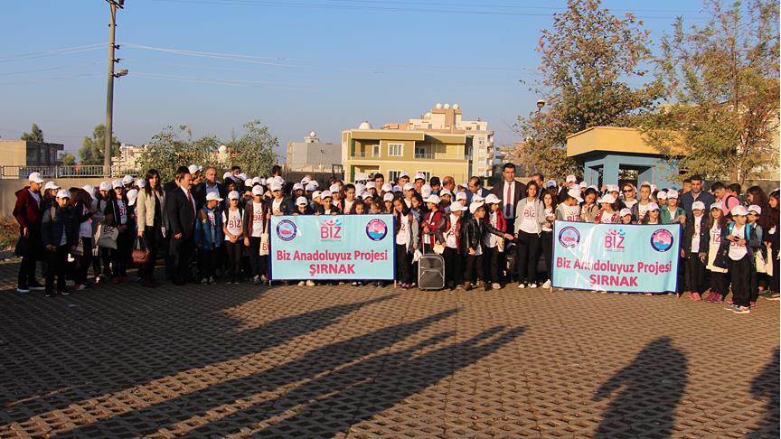 Terör mağduru öğrenciler Antalya yolcusu