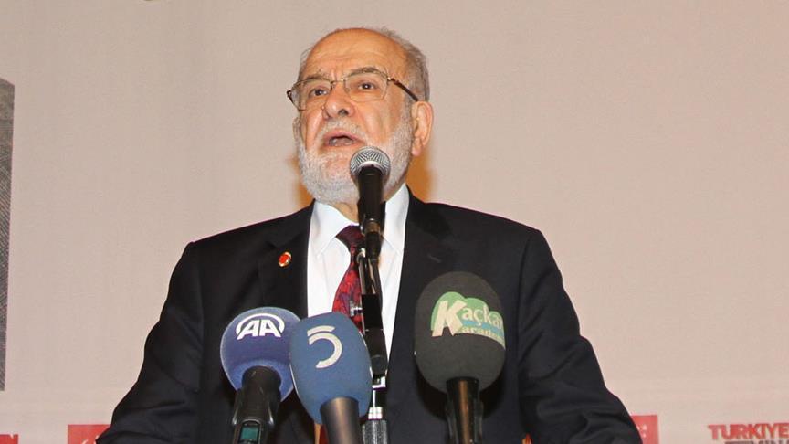 Saadet Partisi Genel Başkanı Karamollaoğlu: Bir numaralı meselemiz kamplaşma ve kutuplaşma