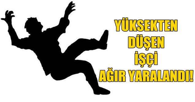 Konya Haber:  Konya Akşehir'de yüksekten düşen kişi yaralandı