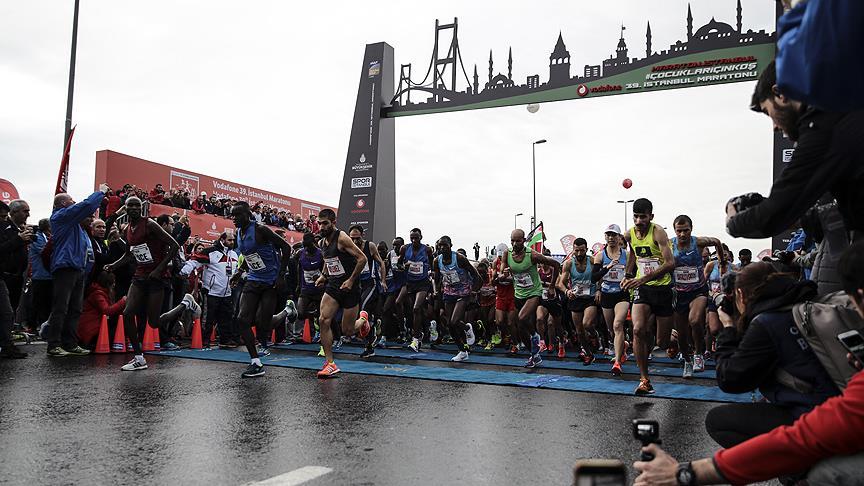 Vodafone 39. İstanbul Maratonu başladı