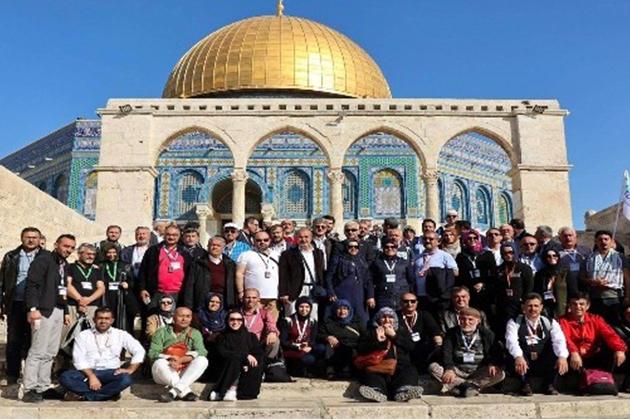 Konya Haber:  Konya Meram Belediyesinin Kudüs programı sona erdi