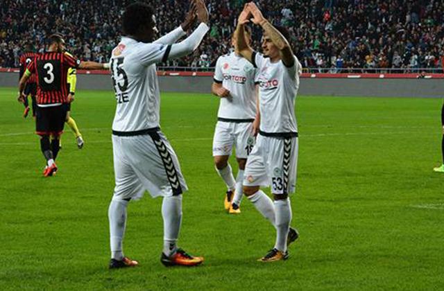 Konya Spor:  Atiker Konyaspor: 2 - Gençlerbirliği: 1