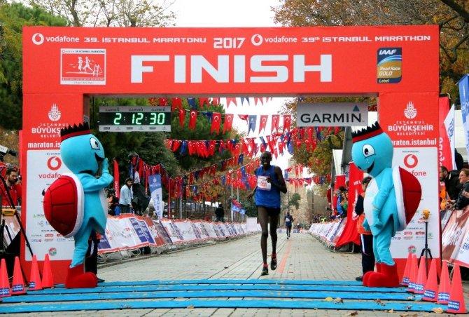 Vodafone 39. İstanbul Maratonu'nu Abraham Kiprotich kazandı