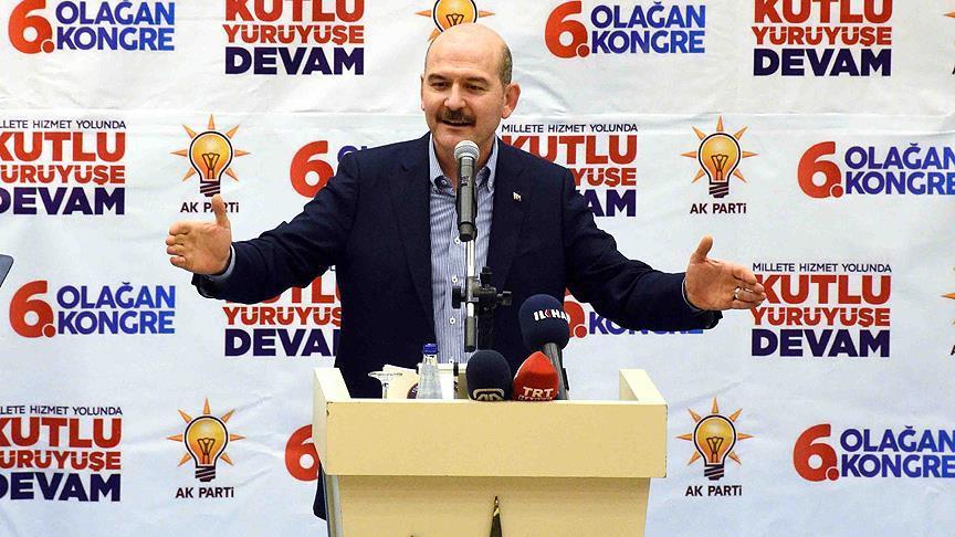 İçişleri Bakanı Soylu: Türkiye terörle mücadelede ipi asla gevşetmeyecek