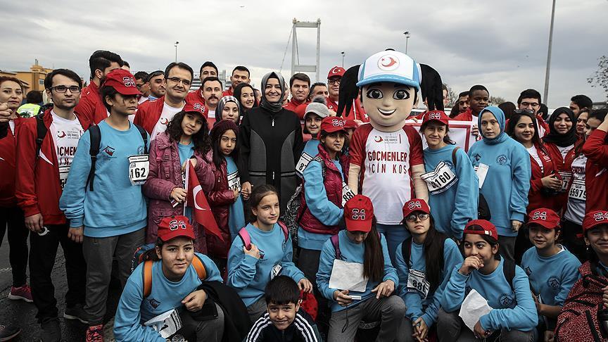 Run For Migrants-Göçmenler İçin Koş Maratonunda Kimler Vardı?
