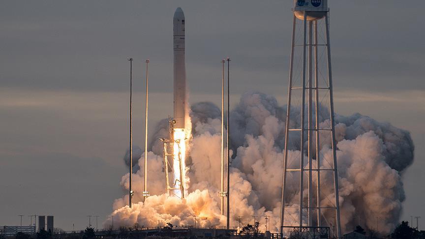 Orbital ATK'nın kargo mekiği UUİ'ye fırlatıldı