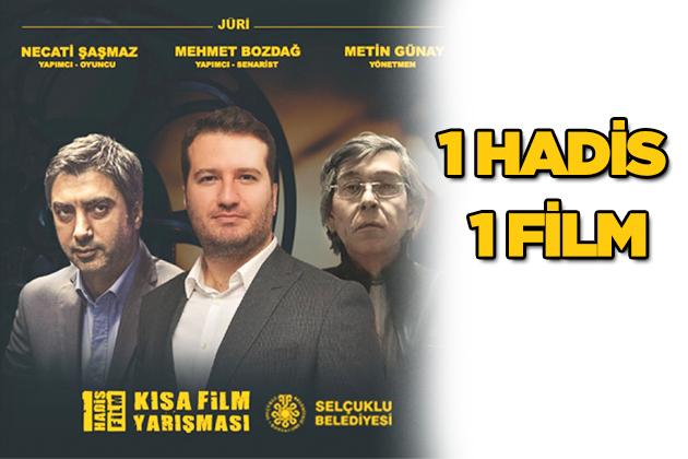 """Konya Haber:  """"1 HADİS 1 FİLM"""" Kısa Film Yarışmasına Başvurular Başladı."""