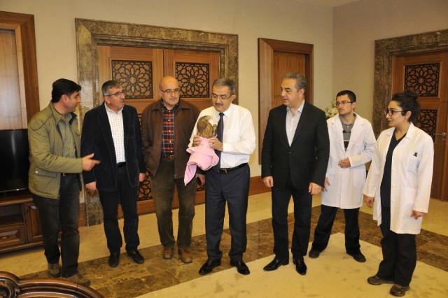 Konya Haber:  Konya'da Yaralı kızıl şahin tedavi altına alındı