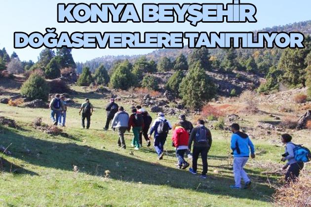 Konya Haber:  Konya Beyşehir doğaseverlere tanıtılıyor