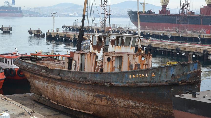 Tarihe ışık tutan gemi