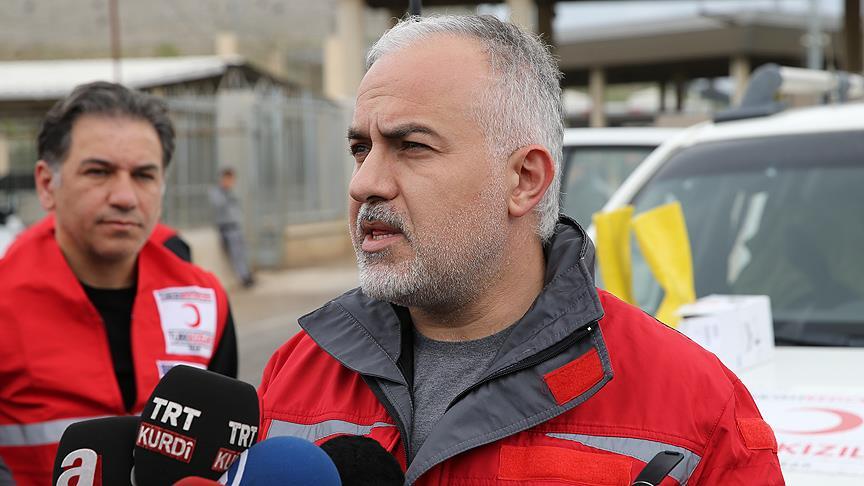 Türk Kızılayı Genel Başkanı Kınık: Bugün düşeni kaldırma yaraları sarma günüdür