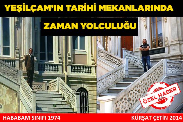 Konya Haber:  #Yeşilçam 'ın Tarihi Mekanlarında Zaman Yolculuğu #OzelHaber