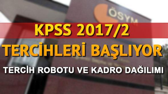 #ÖSYM 'den #KPSS tercih duyurusu | KPSS 2017/2 tercih kılavuzu yayımlandı
