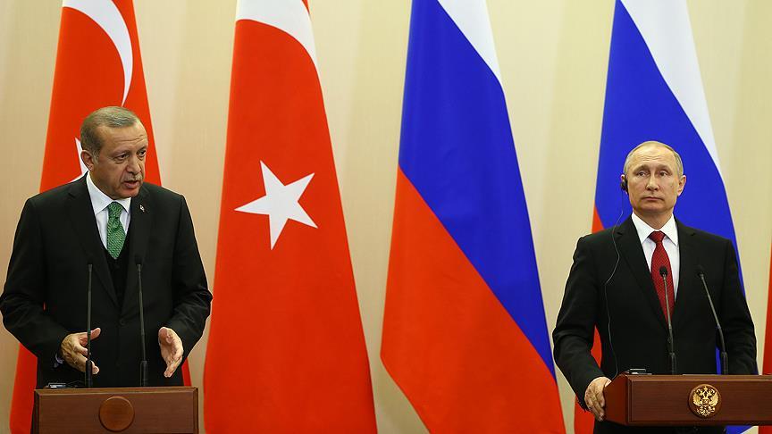 Erdoğan ile Putin ortak basın toplantısı düzenliyor
