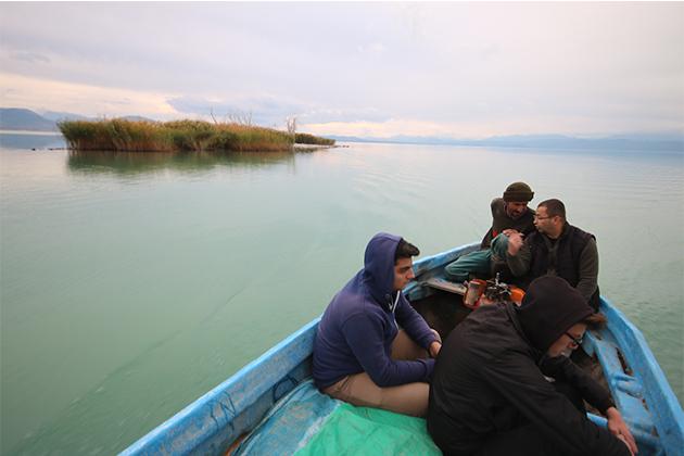 Konya Haber:  Konya Beyşehir Gölü'nde sular çekilince yeni adacıklar oluştu