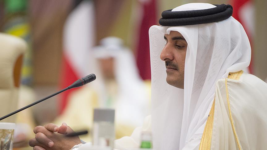 Katar Emiri Al Sani: Katar'a abluka uygulayan ülkeler çözüm istemiyor