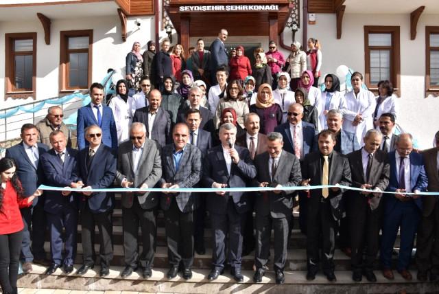 Konya Haber:  Başkan Akyürek, Seydişehir Şehir Konağı'nın açılışını yaptı
