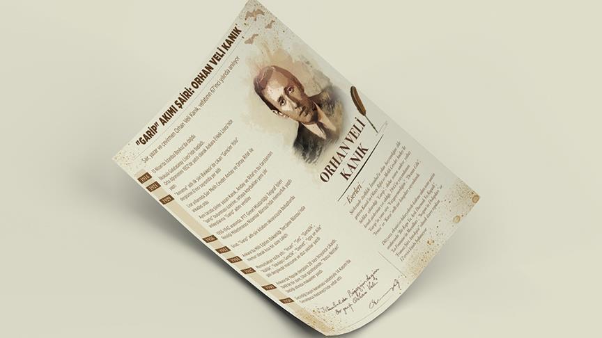 'Garip' akımı şairi: Orhan Veli Kanık