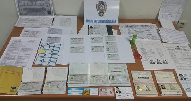 Ankara'da sahte vize dolandırıcıları yakalandı