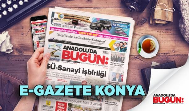 E-Gazete Konya Haber | Mobil Haber Konya | E-Gazete Oku Konya e Haber | Anadolu'da Bugün 15-11-2017 eGazete #Konya