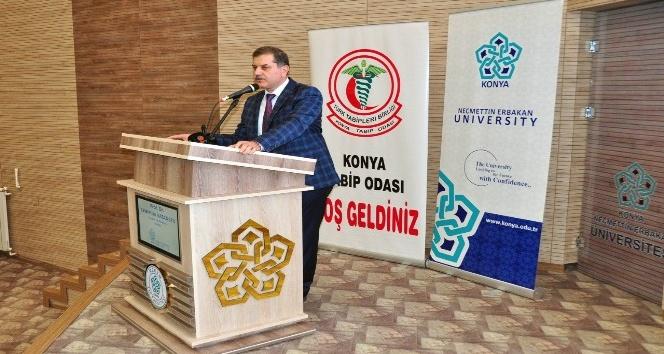 Konya Haber:  Konya NEÜ'de sağlıkta şiddet konuşuldu