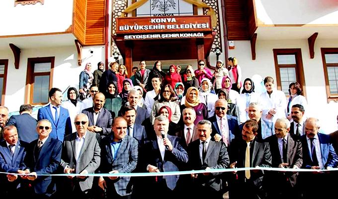 Konya Haber:  Konya Seydişehir Şehir Konağı açıldı