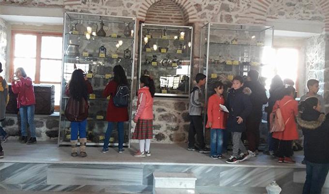 Konya Haber:  Konya'da öğrencilerden müze ve göl ziyareti