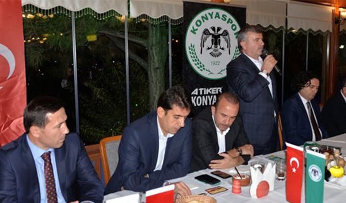 Konya Haber:  Konya Protokolünden Konyaspor'a Büyük Destek.