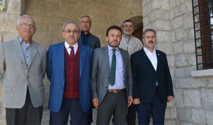 KonyaHaber:  Konyaspor Başkanı Fatih Yılmaz, Çumra'yı ziyaret etti