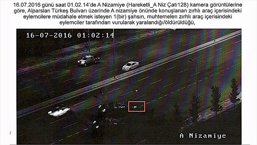 Zırhlı araçlardan sivillerin vurulduğu anlar dava dosyasında