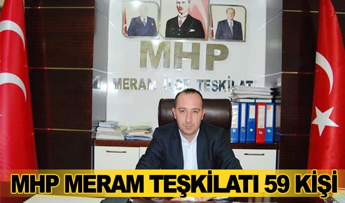 En Son Haber Konya:   MHP Konya Meram 59 kişiyi ihraç ediyor