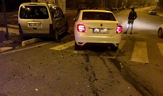Konya Haber:  Konya Seydişehir'de trafik kazası: 3 yaralı