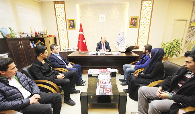 Konya Haber:  Başkan Özaltun'a AK Parti'den ziyaret