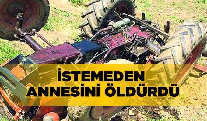 Konya Haber Son Dakika:  Konya'da Anne Oğlunun kullandığı Traktör'ün altında kaldı