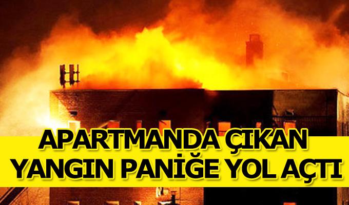 KonyaHaber:  Konya'da Çatı katında çıkan Yangın Paniğe Neden oldu