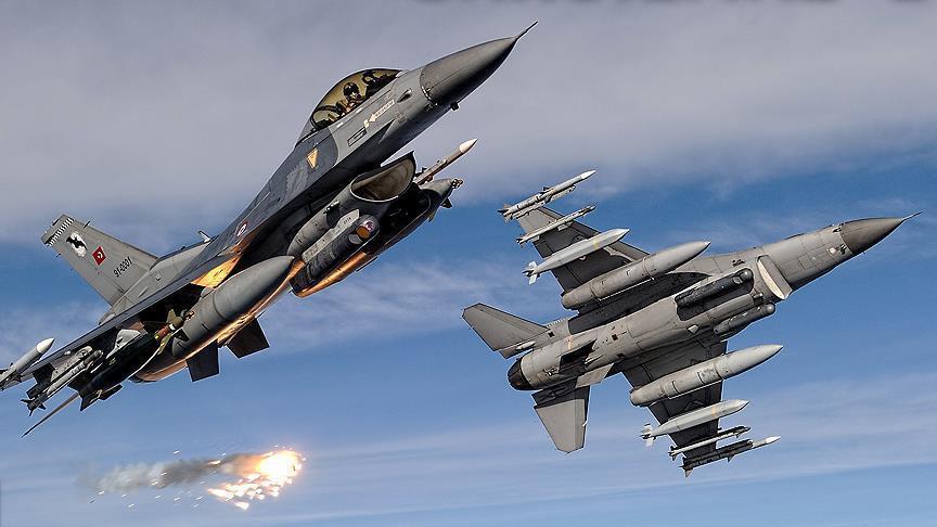 TSK, Irak'ın kuzeyinde PKK kamplarına hava harekatı düzenledi